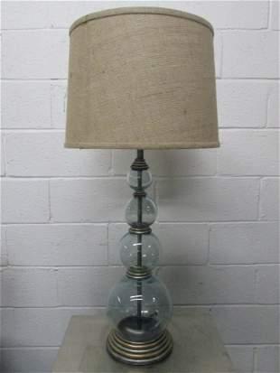 Modern Hand Blown Lamp