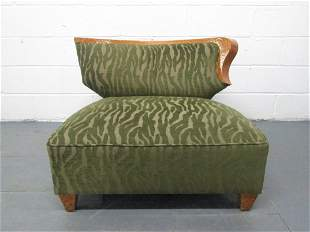 Gilbert Rohde Style Slipper Chair