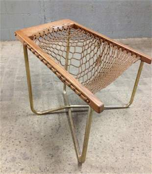 Mid Century Modern Rope Chair