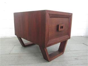 End Table Style of James Mont by Modernage