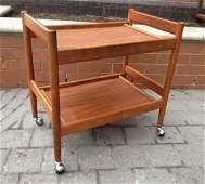 Danish Teak Bar Cart