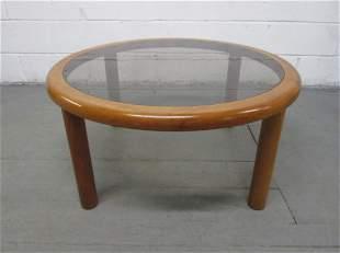 Danish Teak Round Coffee Table