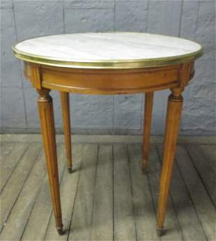 Marble Top French Style Table