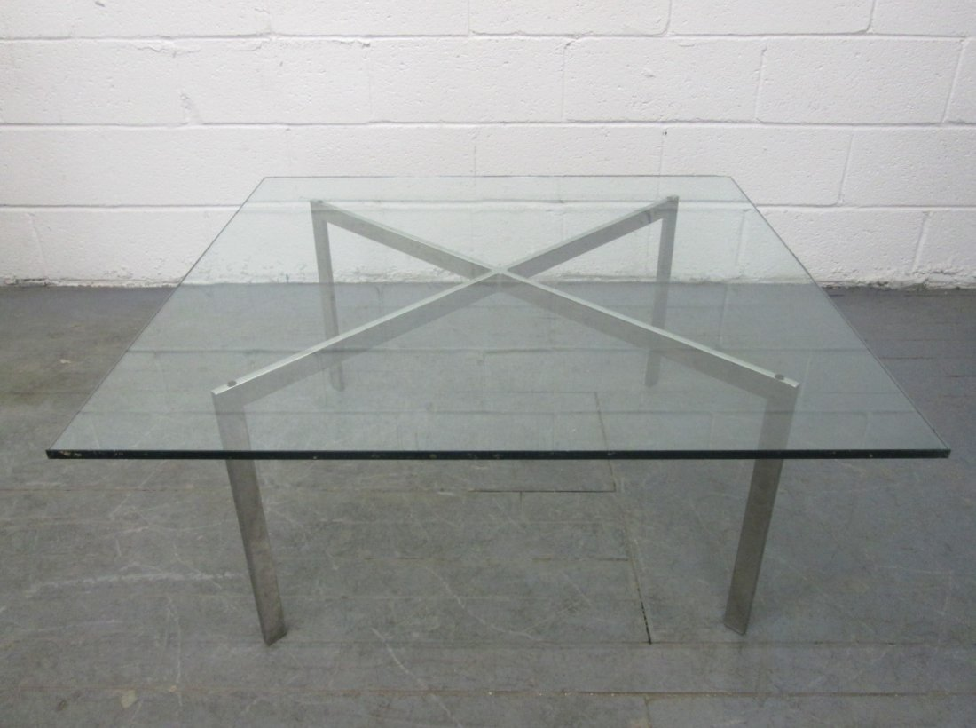Barcelona Table Base By Mies Van Der Rohe For Knoll