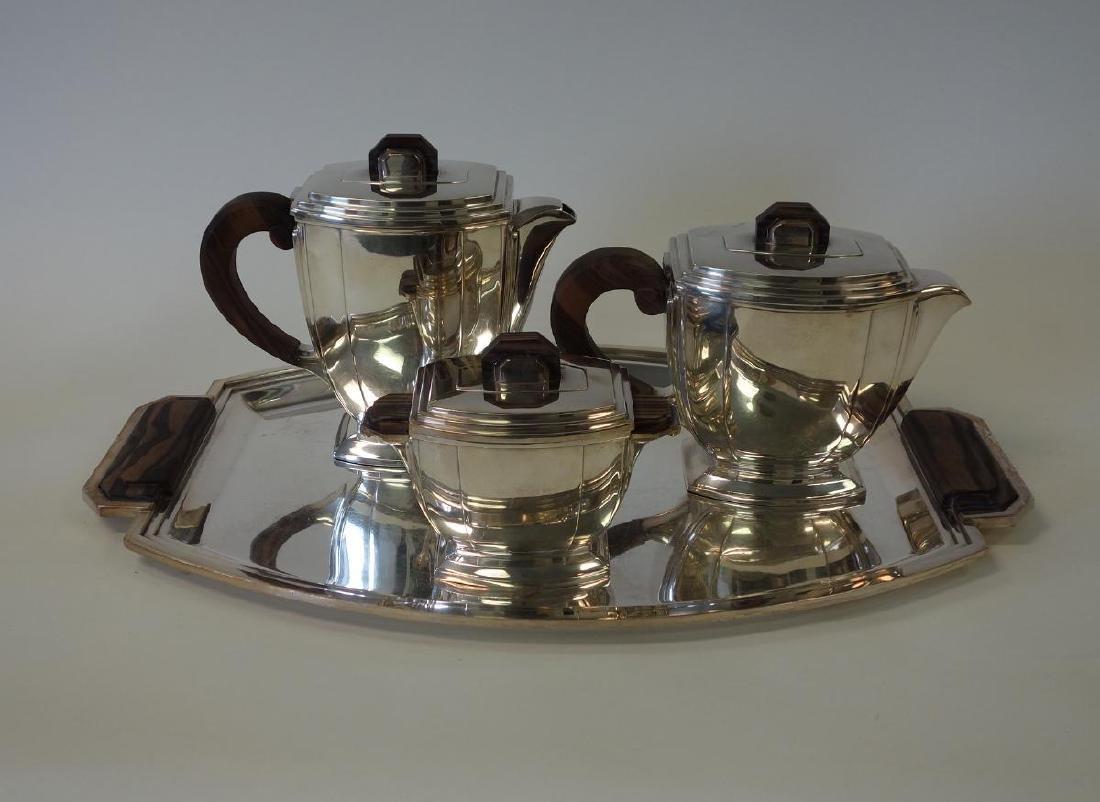 Bafico French Art Deco Coffee Tea Service & Tray
