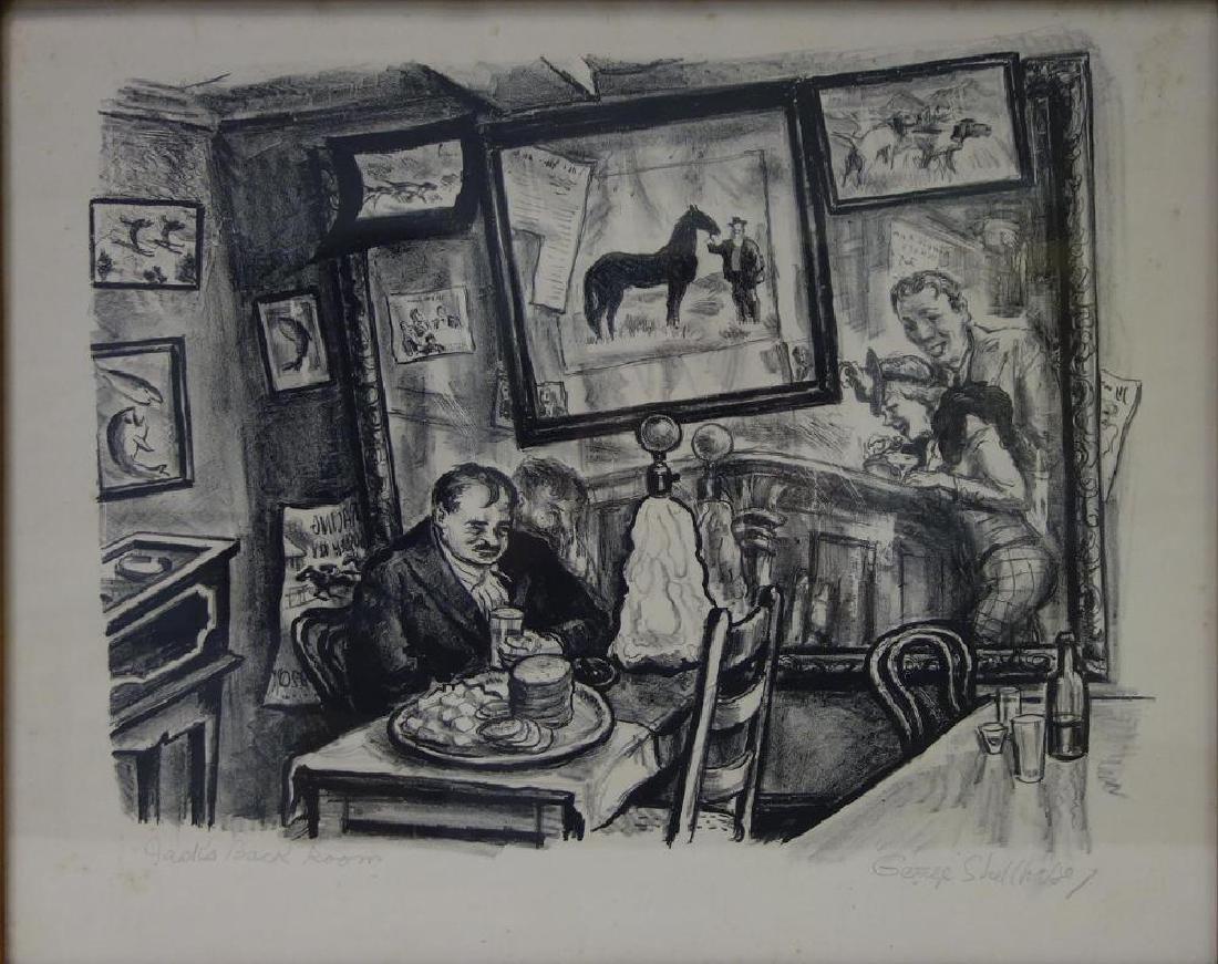 George Shellhase (20thc) Jack's Back Room Bar