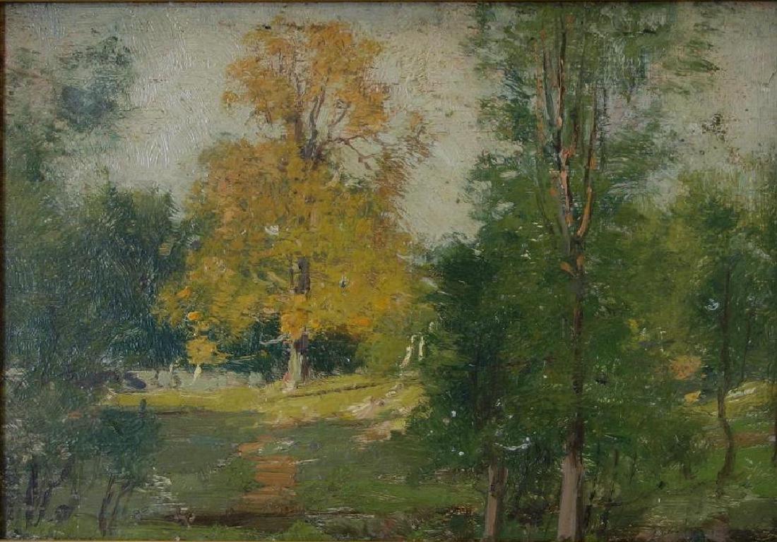 Joseph H Greenwood (1857-1927) Forest Landscape