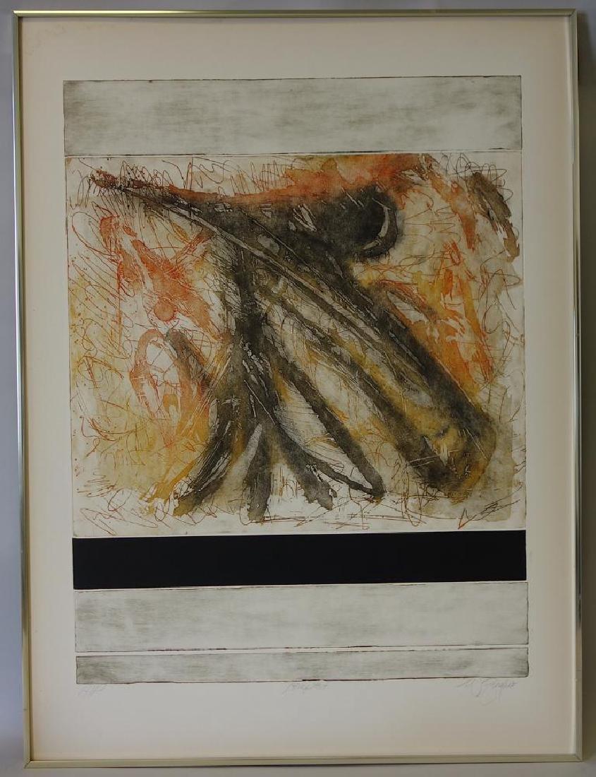 Astolfo Zingaro (Italy, b-1931) Tempest