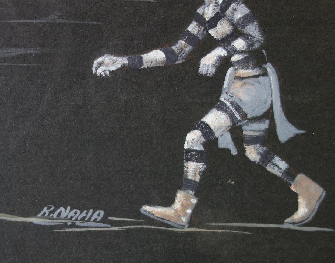 Raymond Naha (1933-1974) Hopi Koshare Dancers - 2