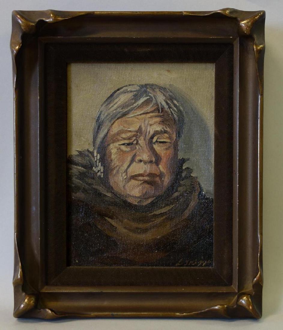 L. Triggs, Portrait of Sevuokuk Yupik Inuit Eskimo