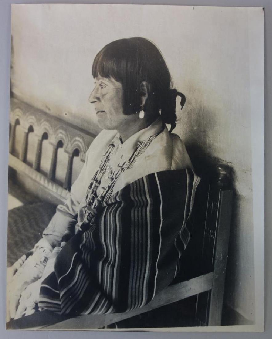 E. Everett Native American Photo, La Fonda Joe