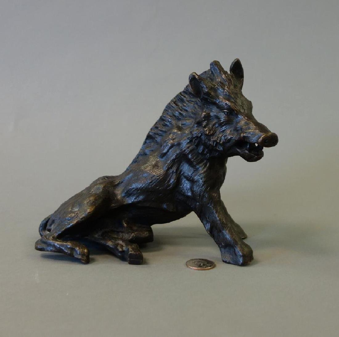 19thc P. J. Mene Bronze Wild Boar / Warthog