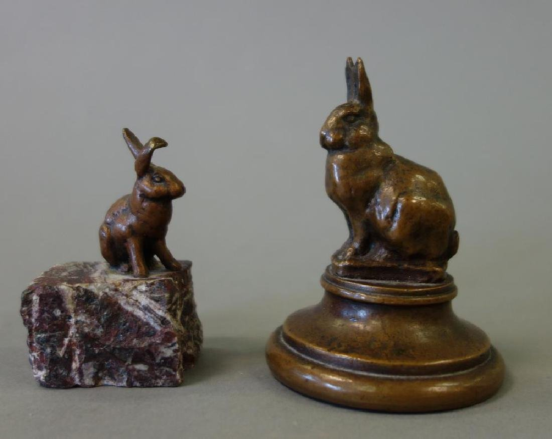 Edward Clark Potter, Bronze Rabbit & Hare