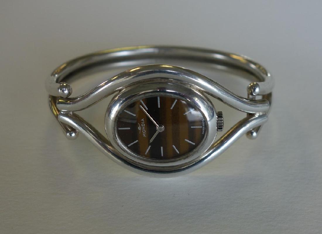 Mondia 800 Silver Swiss Ladies Wrist Watch