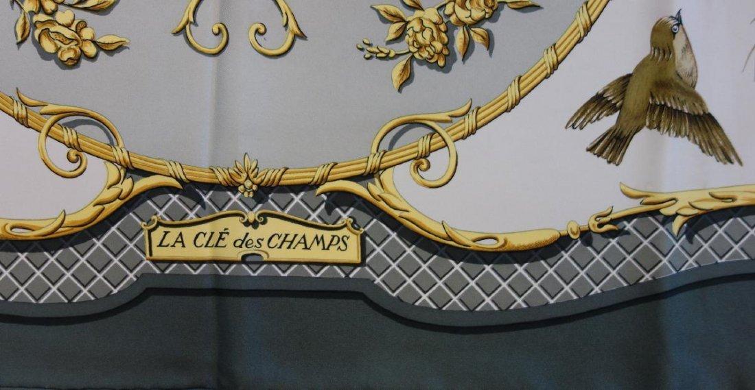 Hermes Silk Scarf, La Cle des Champs - 2