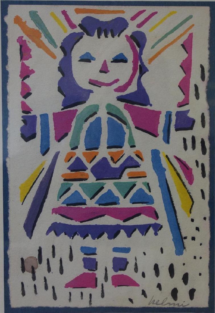 Helmi Juvonen (1903-1985) Native American Girl