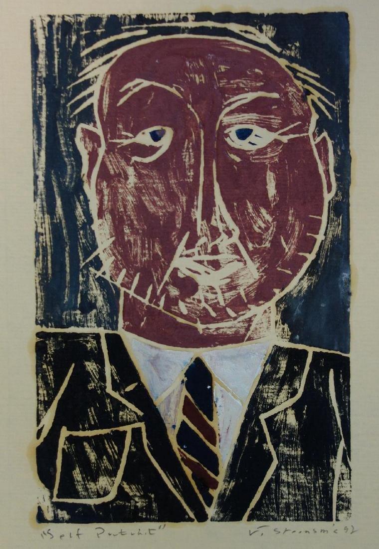 Jay Steensma (WA, 1941-1994) Self Portrait