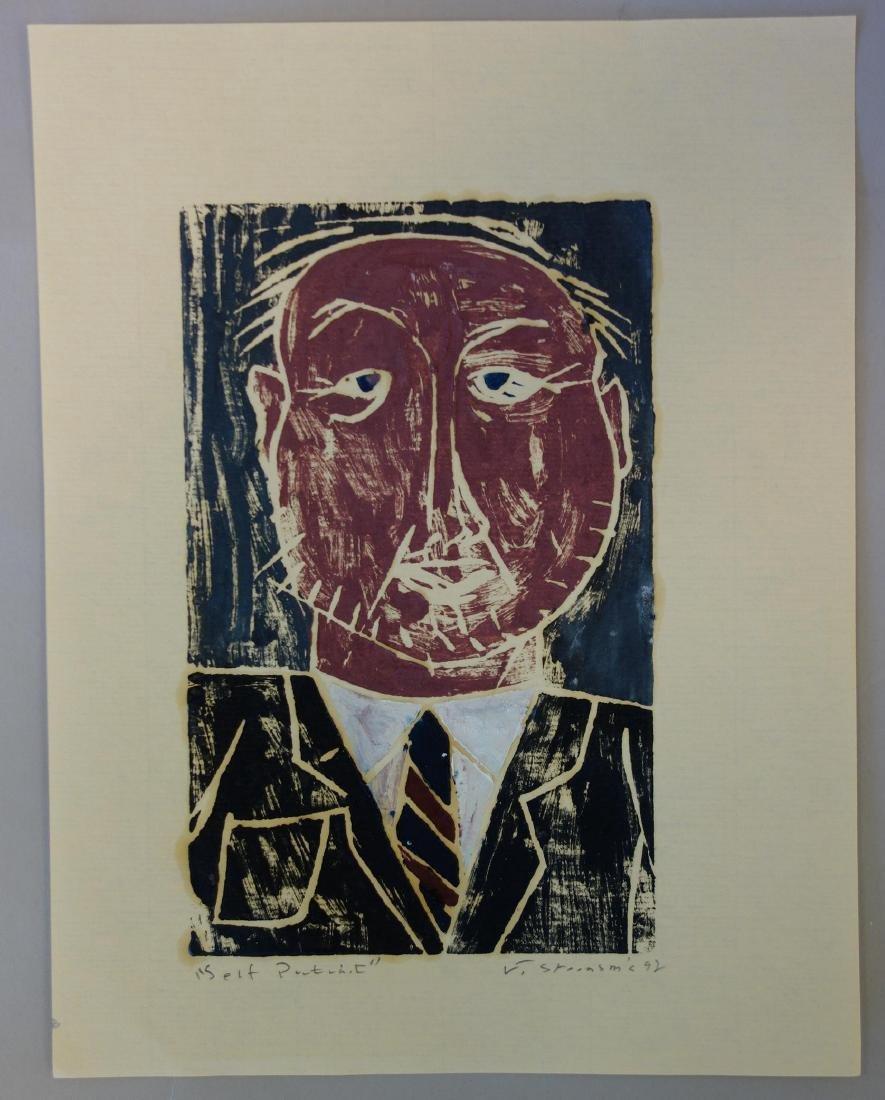 Jay Steensma (WA, 1941-1994) Self Portrait - 2