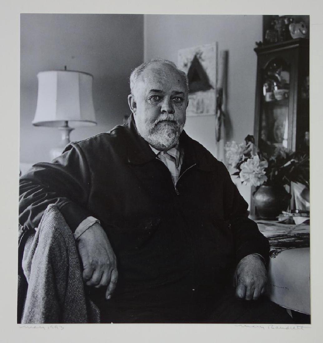 Mary Randlett Photograph of Jay Steensma, Signed