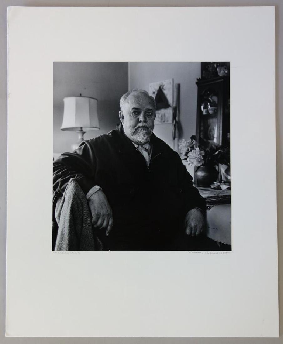 Mary Randlett Photograph of Jay Steensma, Signed - 2