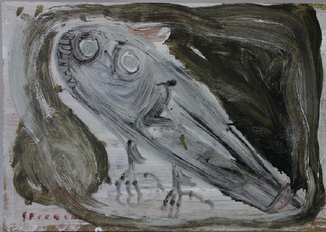 Jay Steensma (WA, 1941-1994) Wise Owl
