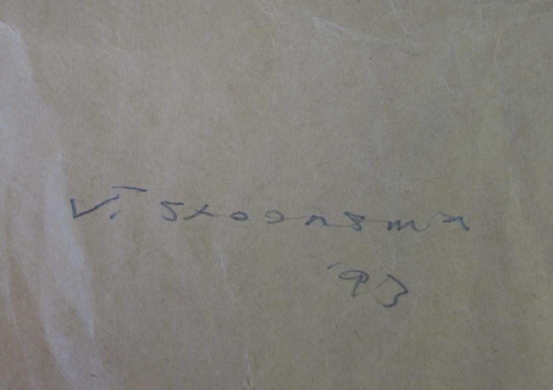 Jay Steensma (WA, 1941-1994) White Cat - Paper Bag - 2