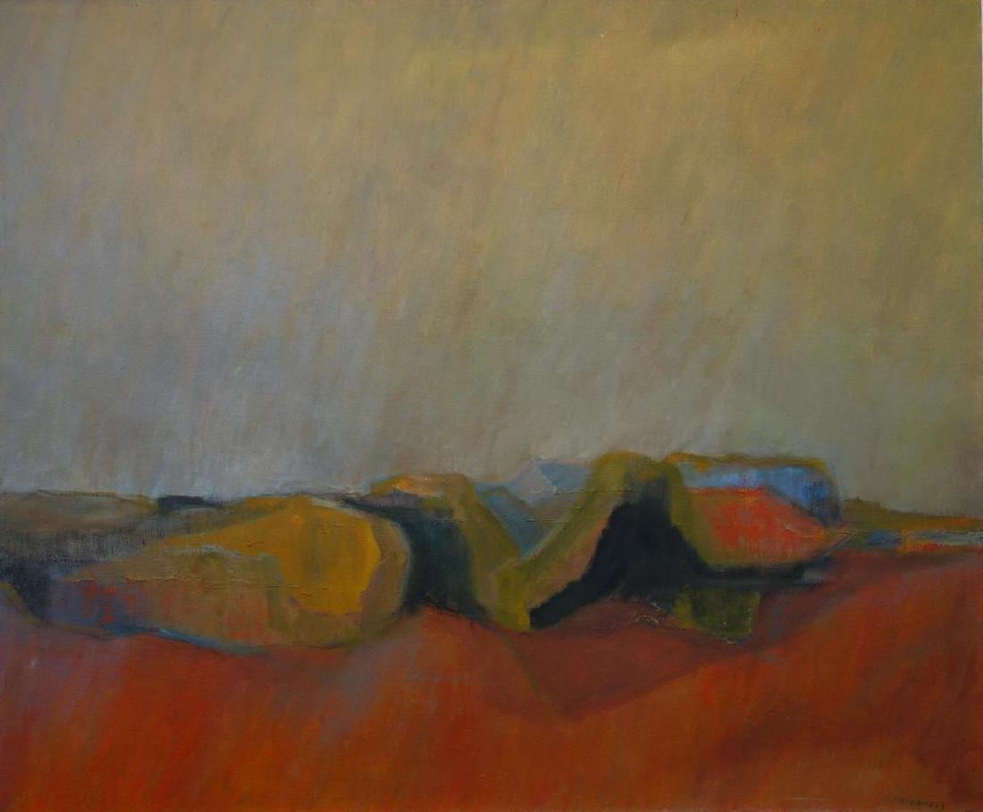 Margaret H. Vaness (1919-2013) Distant Hills