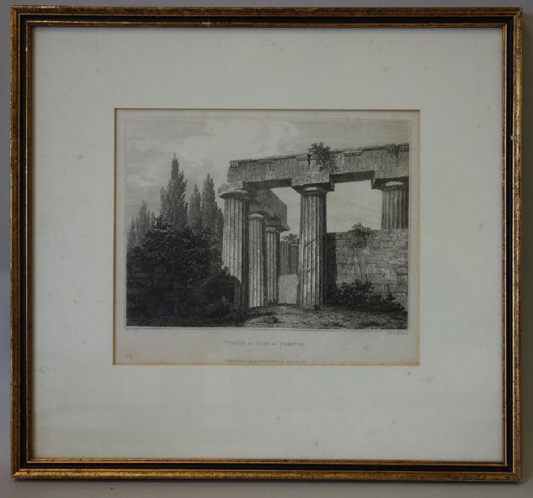 3 Architectural Etchings Letitia & Elizabeth Byrne - 3