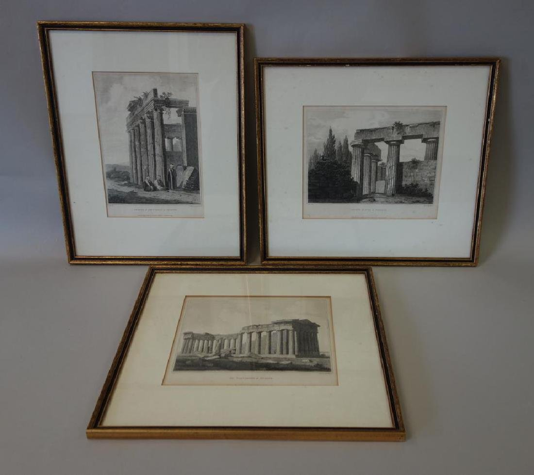 3 Architectural Etchings Letitia & Elizabeth Byrne - 5