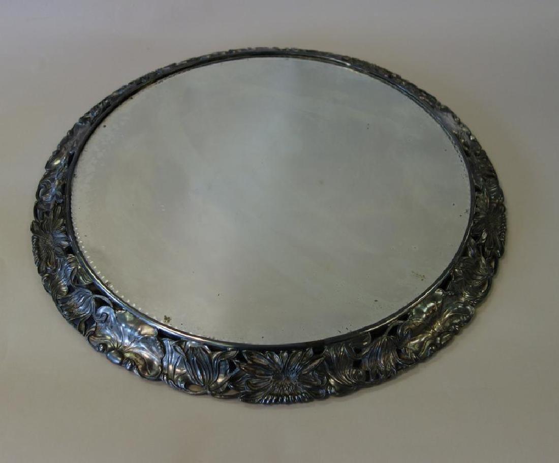 Silverplate Mirrored Plateau Centerpiece
