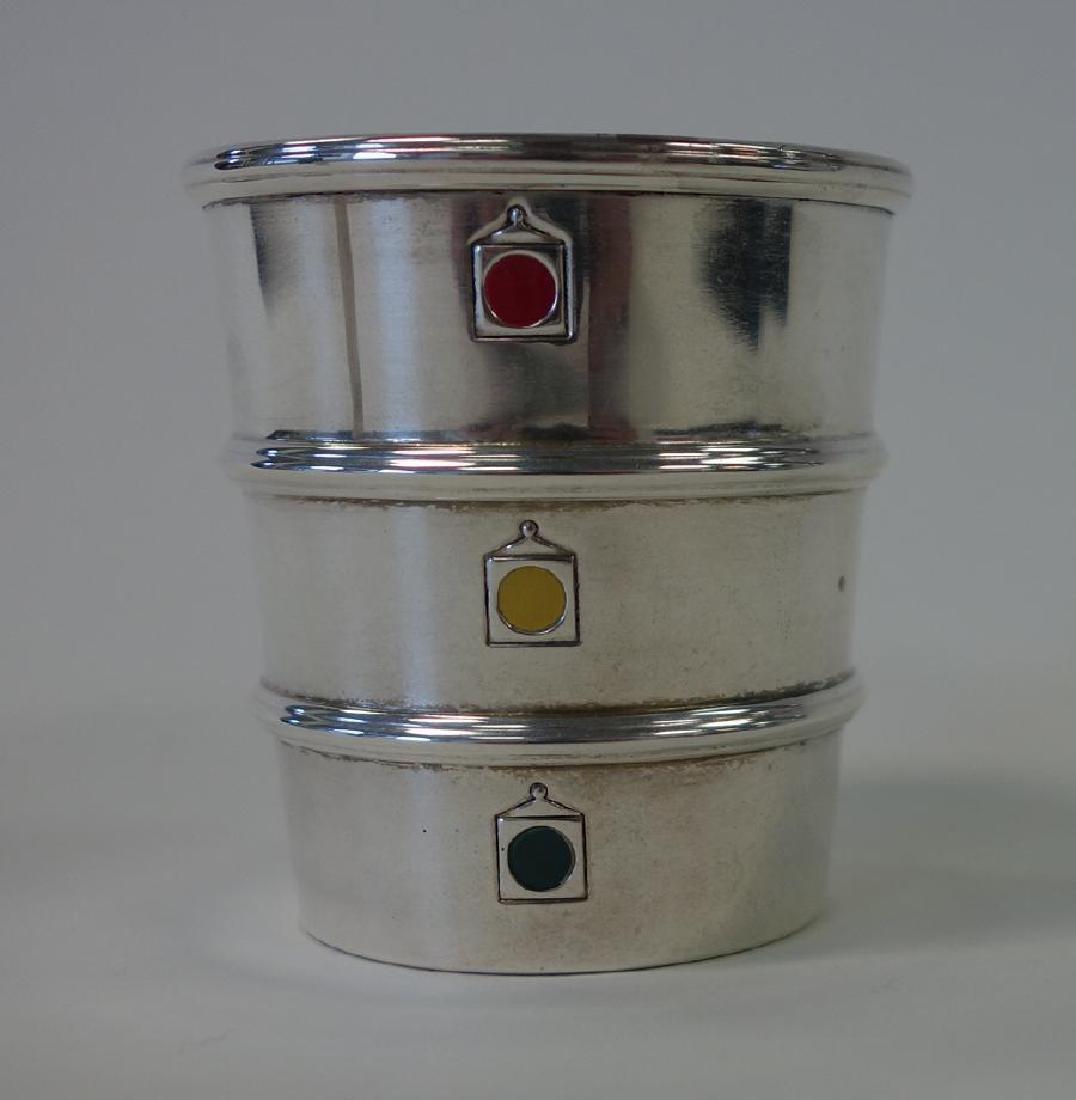 Gorham Sterling Stoplight Jigger & Cocktail Shaker - 2