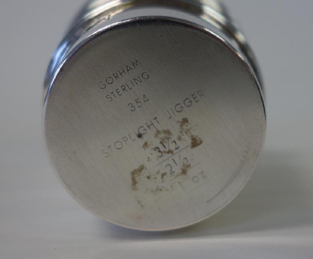 Gorham Sterling Stoplight Jigger & Cocktail Shaker - 3