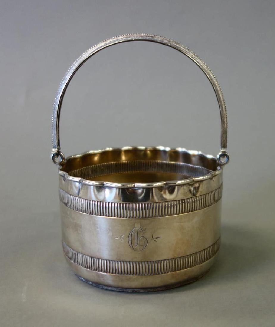 Sterling Silver Basket by Wood & Hughes