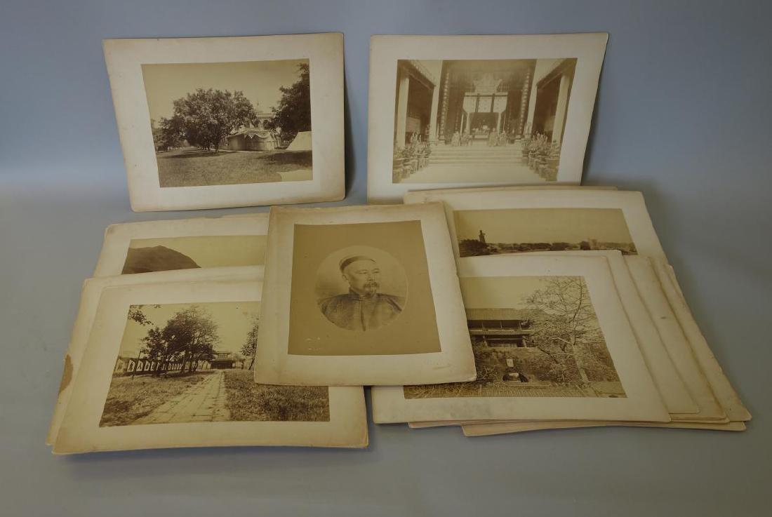 16 Antique Chinese Photographs, Li Hongzhang +