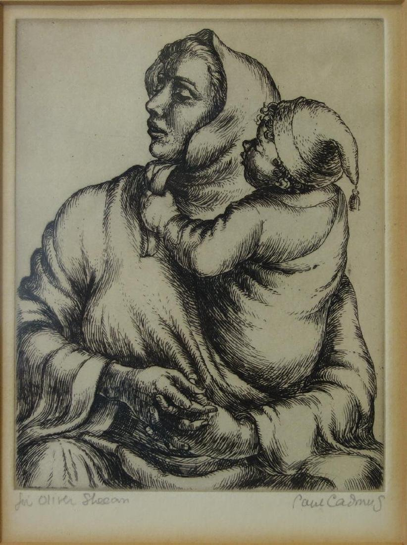 Paul Cadmus (1904-1999) Mother & Child, 1934