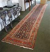 Caucasian / Kazak Oriental Runner Rug
