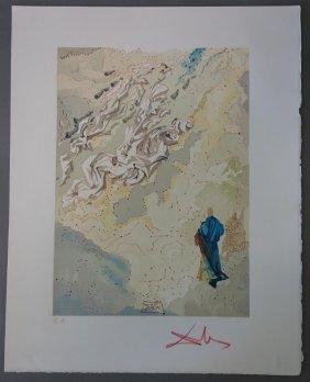 Salvador Dali, Paradise Canto 29, Divine Comedy