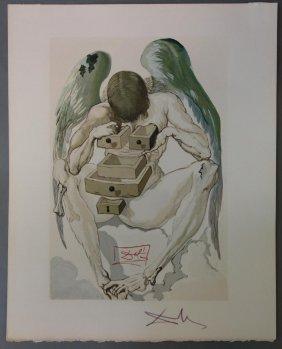 Salvador Dali, Purgatory Canto 1, Divine Comedy