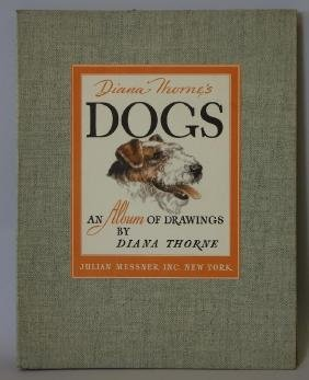 Diana Thorne, Dogs An Album of Drawings, 1944
