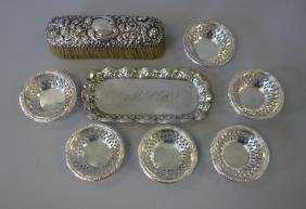 American Sterling & German Silver Objects Gorham +