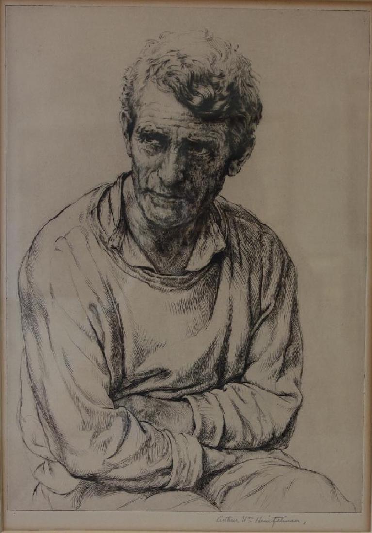 Arthur Heintzelman (1891-1965) Lancaster Farmer
