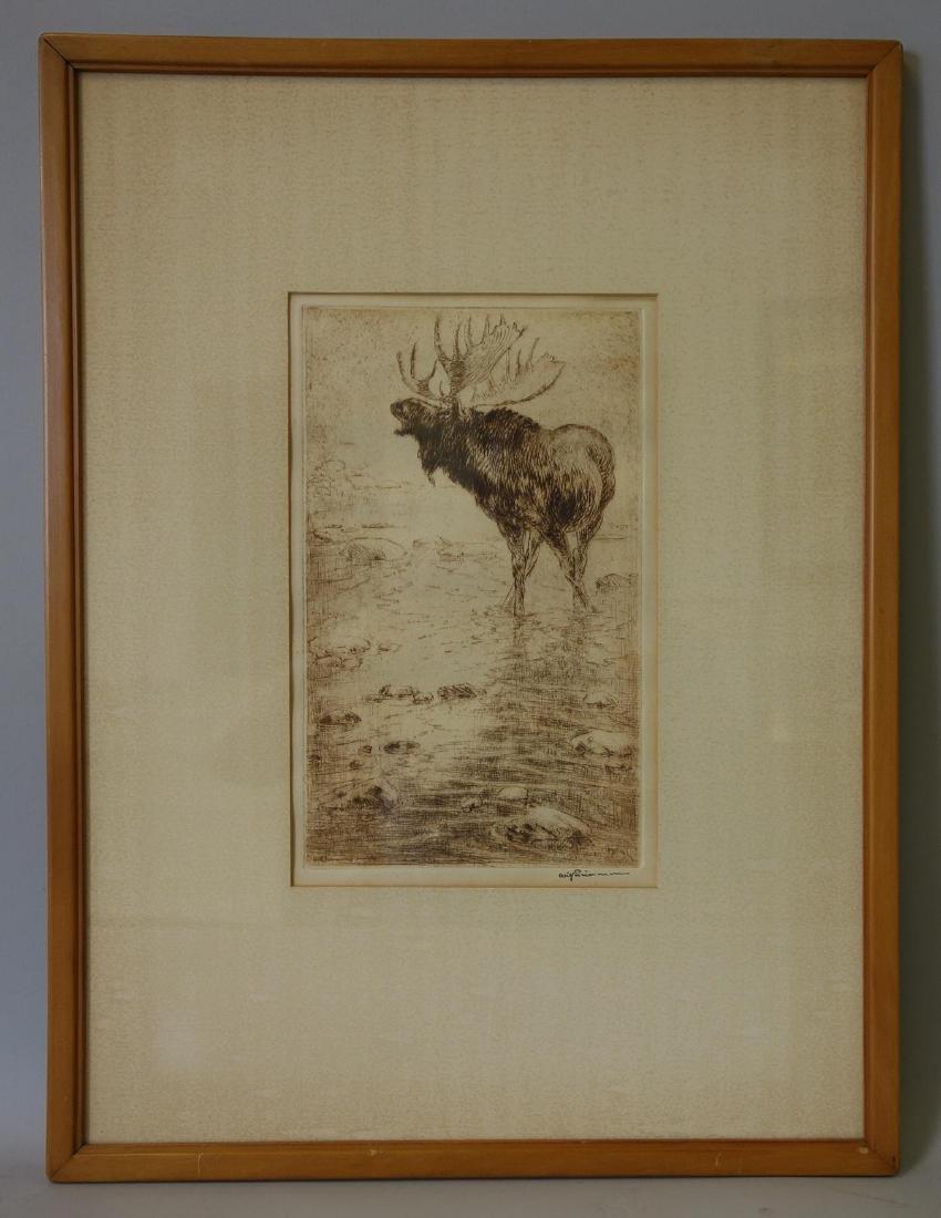 Will (William) Simmons (1884-1949) Big Moose