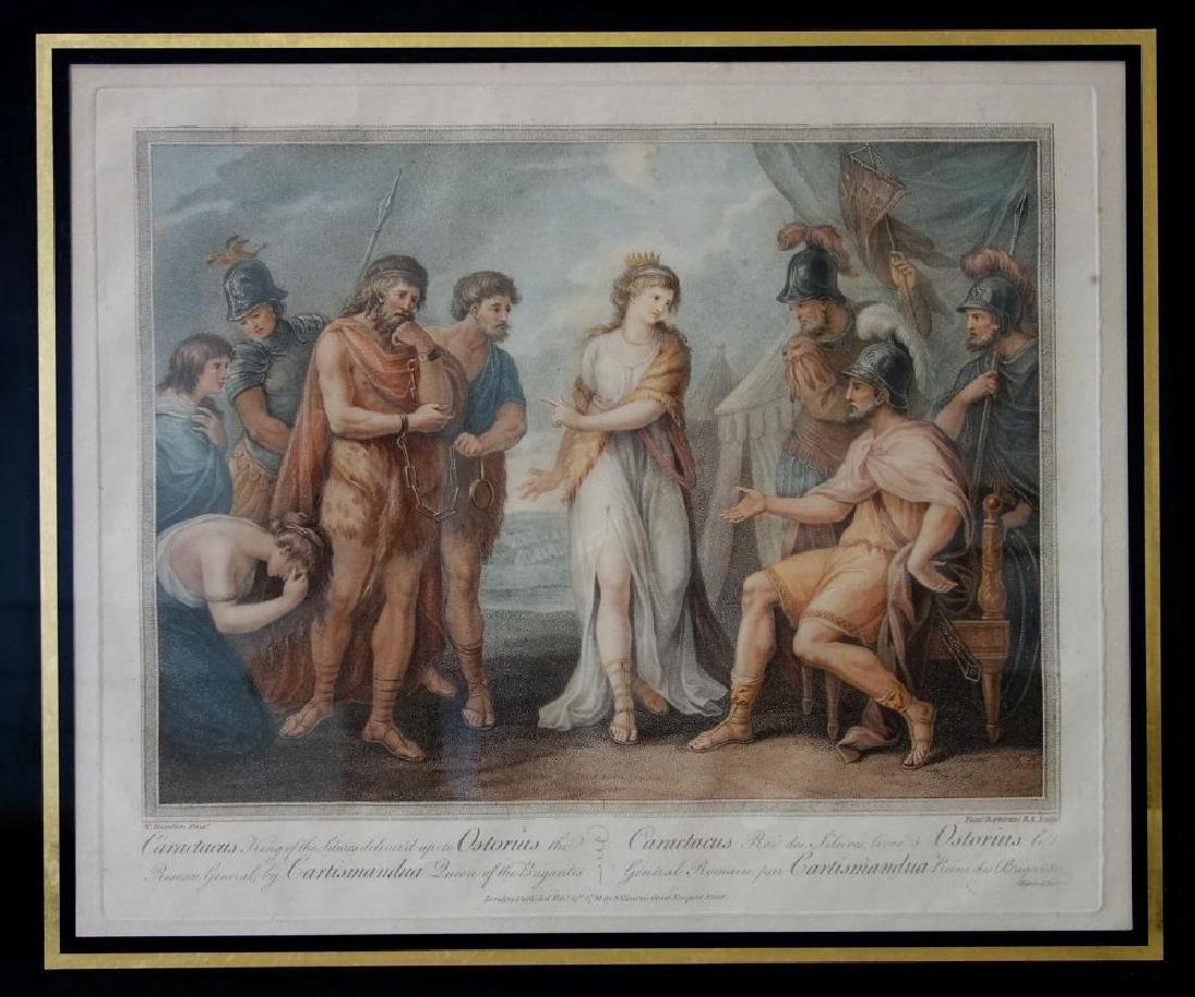Francesco Bartolozzi (1727-1815) Caractacus
