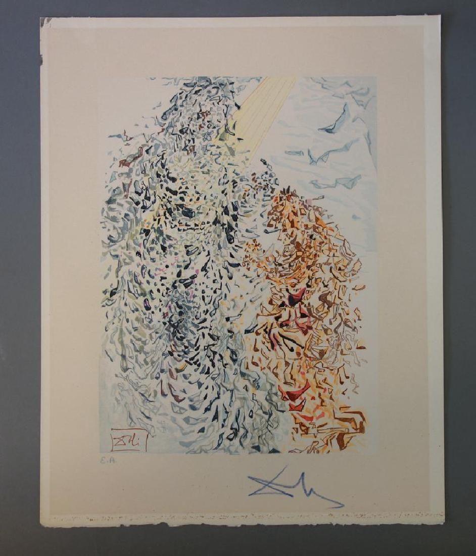 Salvador Dali, Paradise Canto 11, Divine Comedy