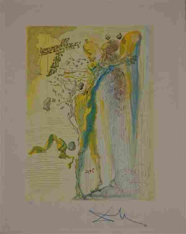 Salvador Dali, Paradise Canto 12, Divine Comedy