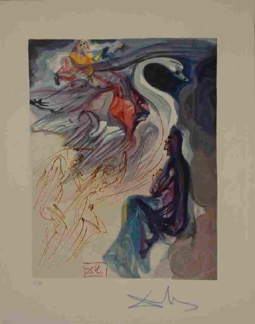 Salvador Dali, Paradise Canto 19, Divine Comedy