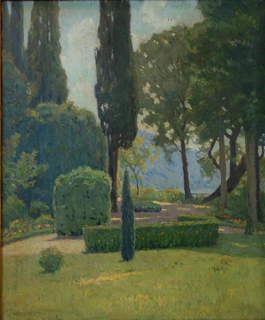 Charles Warren Eaton (1857-1937) Villa Serbelloni