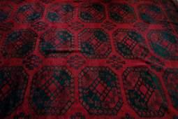 Fine Wool Oriental / Khiva Ersari Room Size Carpet