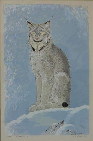 William D. Berry (1926-1979) Lynx