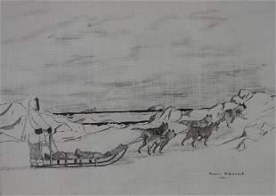Florence Nupok Malewotkuk (1906-1971) Seal Hunt